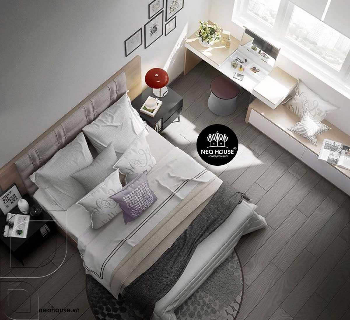 Mẫu thiết kế nội thất phòng ngủ hiện đại. Ảnh 9
