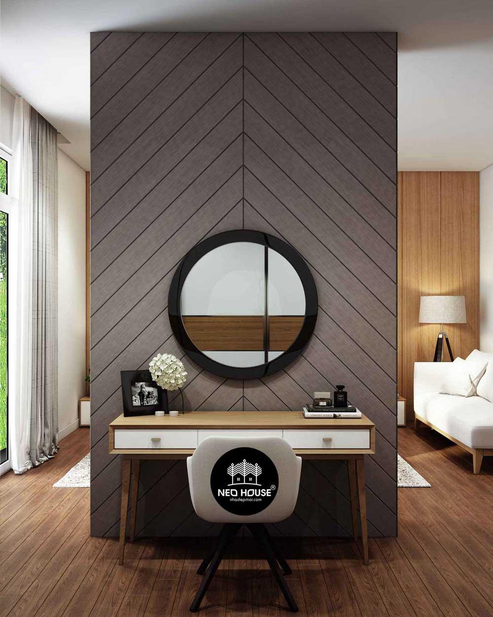 Nội thất phòng ngủ Master hiện đại