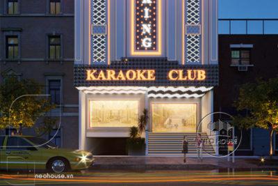 """Sang Chảnh Với Club Karaoke Bán Cổ Điển """"The King"""" Tại Quảng Ngãi"""