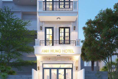 Đẹp Mắt Với Khách Sạn 3 Tầng Bán Cổ Điển Tại Hóc Môn