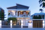 Mẫu Nhà Biệt Thự 2 Tầng Đẹp Hiện Đại 15x18m Tại Thanh Hoá – BT14