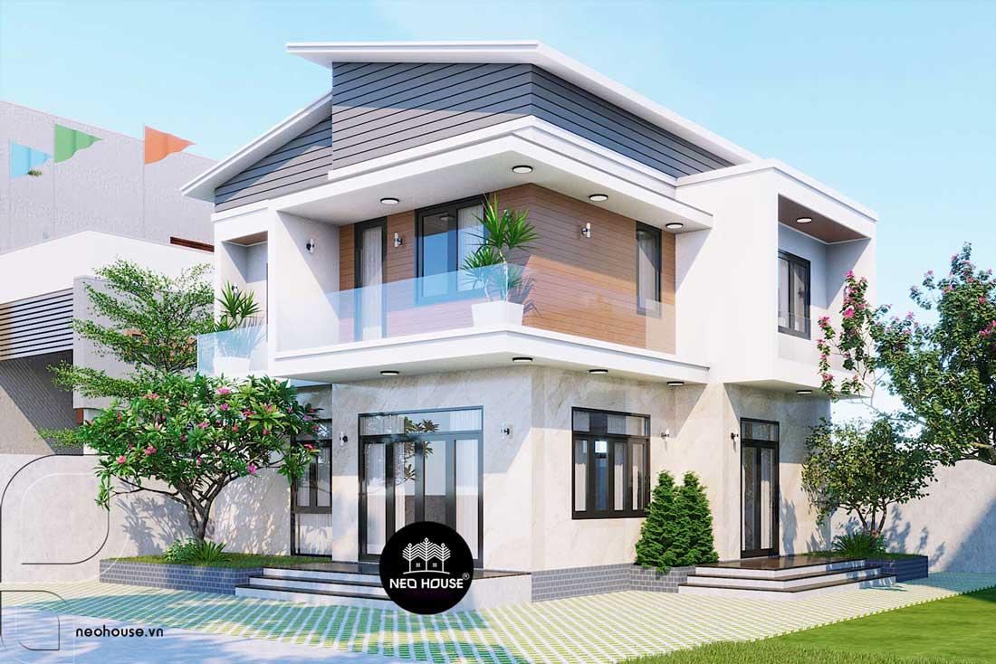 Biệt thự 2 tầng hiện đại đẹp tại Thanh Hoá