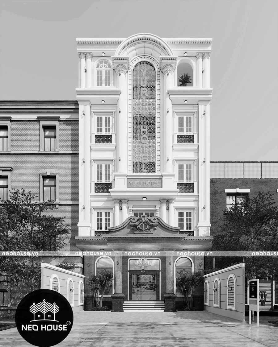 Thiết kế khách sạn 5 tầng Yunii tại Phan Thiết. Ảnh 2