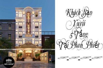 Thiết Kế Khách Sạn Yurii 5 Tầng Tại Phan Thiết-KS01
