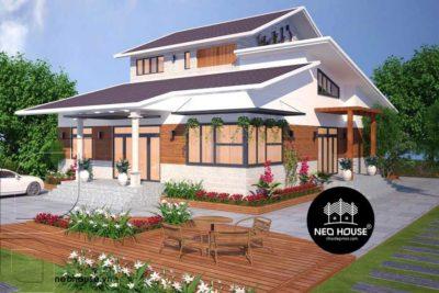 Full Trọn Bộ Thiết Kế Kiến Trúc – Nội Thất Biệt Thự Vườn – BTV15