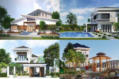 5 Mẫu Biệt Thự Nhà Vườn Đẹp Nhất Năm 2018
