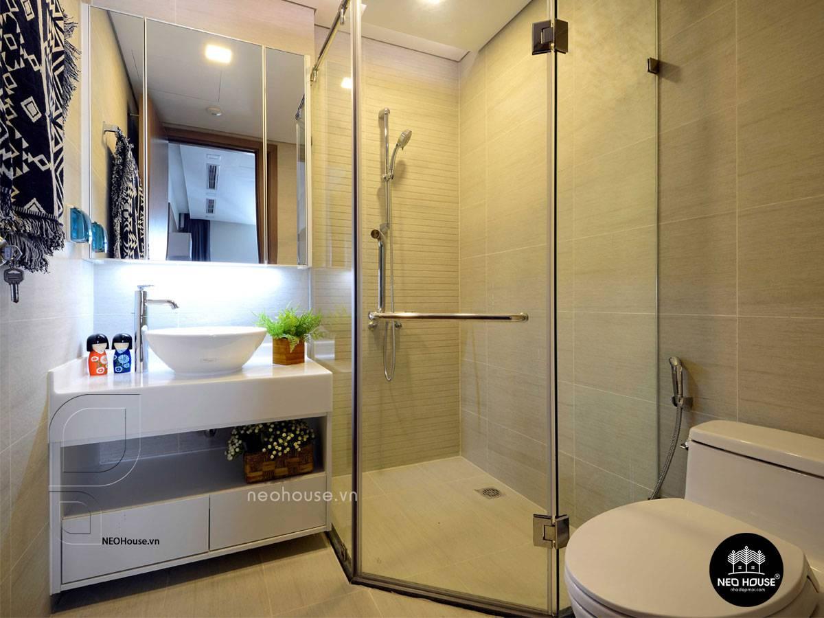 Thiết Kế Nội Thất Phòng Tắm Toilet Chung Cư 70m2