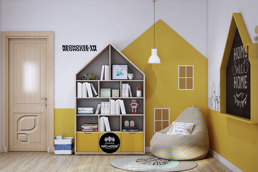 Thiết kế nội thất phòng của các con