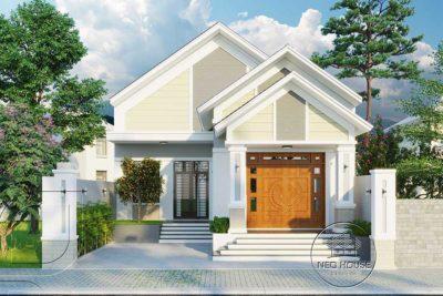 Biệt Thự Vườn Mái Ngói 1 Trệt Hiện Đại Đẹp 10x19m Tại Bình Phước – BTV17