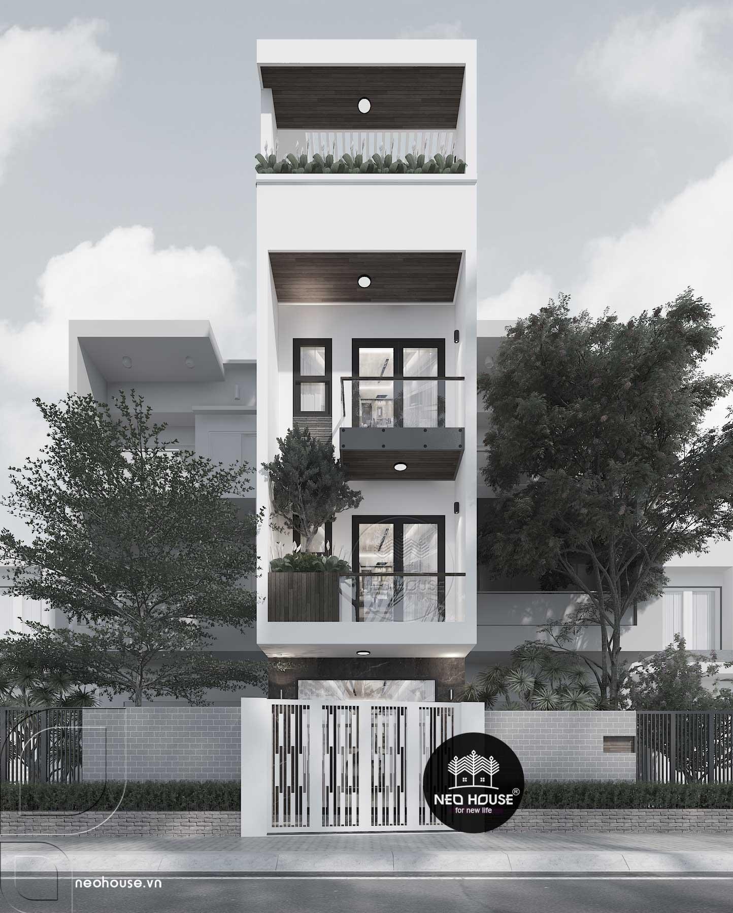 Nhà phố hiện đại 3 tầng tại quận9