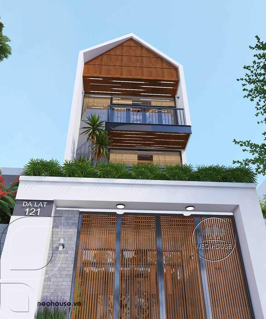 Mặt tiền nhà phố độc đáo tại Đà lạt 3