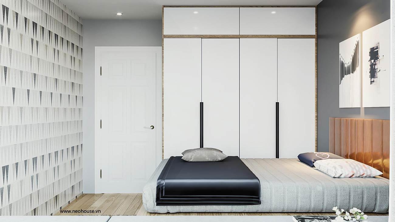 thiết kế nội thất căn hộ la casa phòng ngủ 5