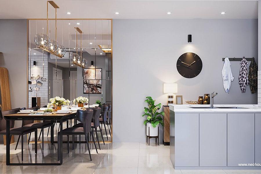 Thiết kế nội thất căn hộ La casa. Ảnh bìa