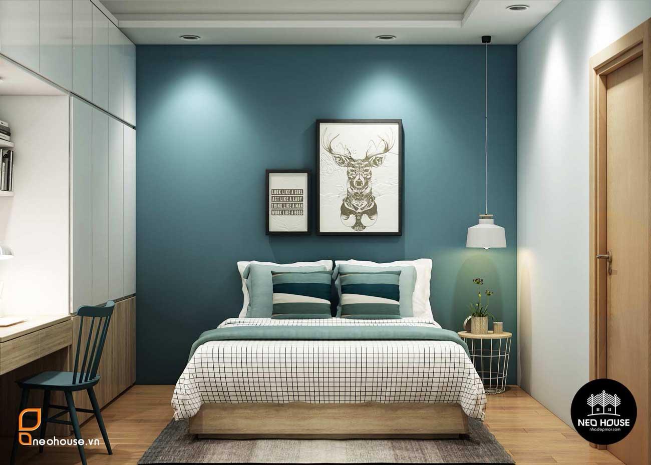 Trang trí tường phòng ngủ 11