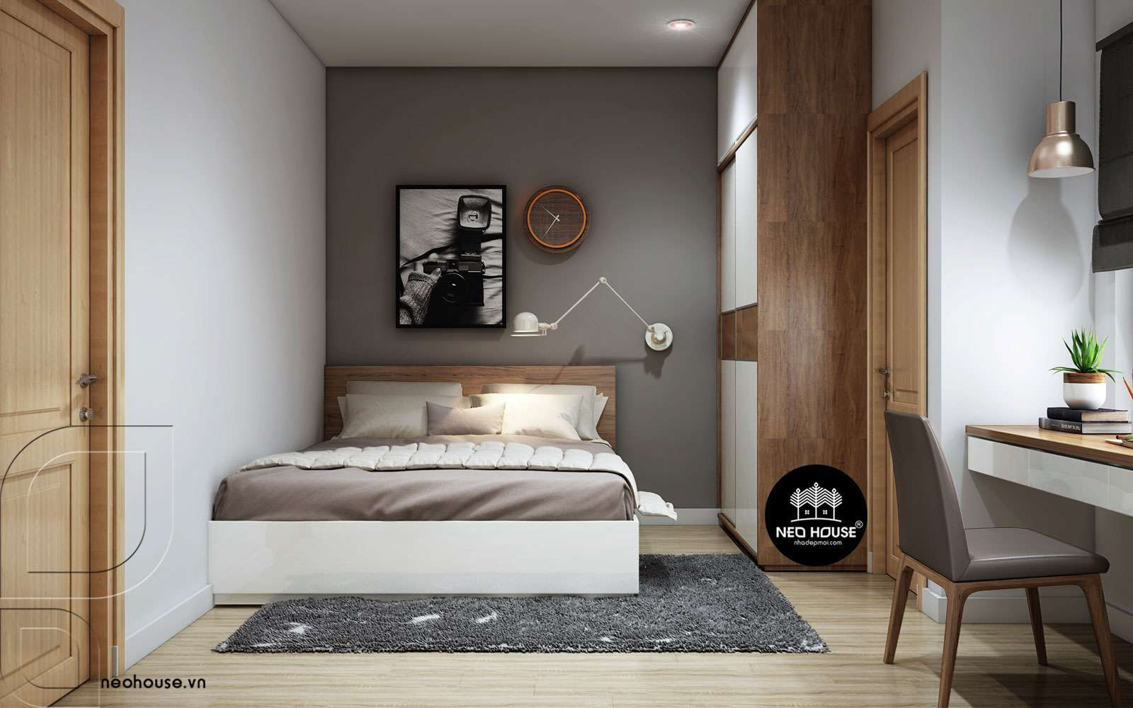 Kiến trúc phòng ngủ 9