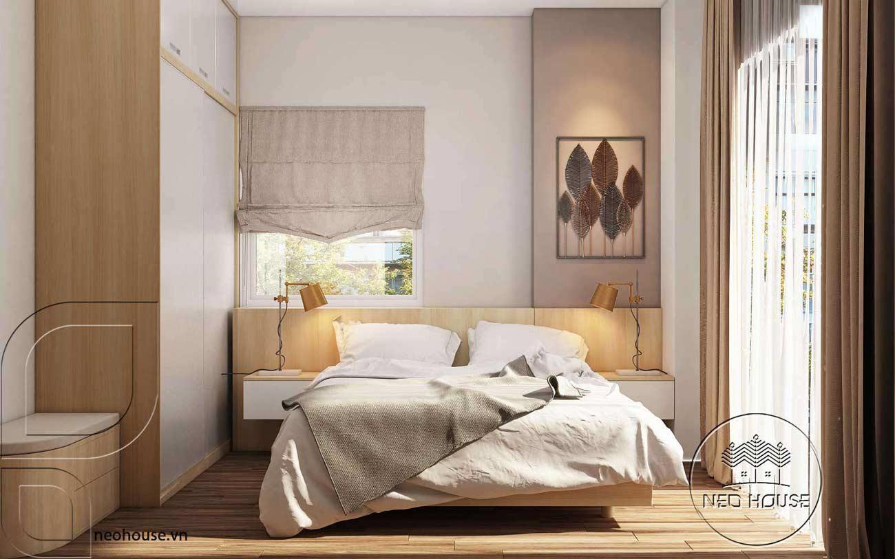 Trang trí tường phòng ngủ 5