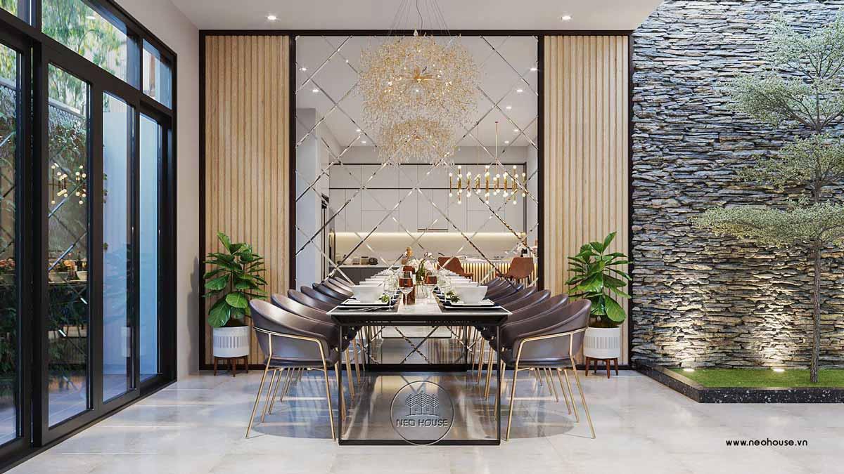 Thiết kế nội thất biệt thự đẹp 3 tầng. Ảnh 4