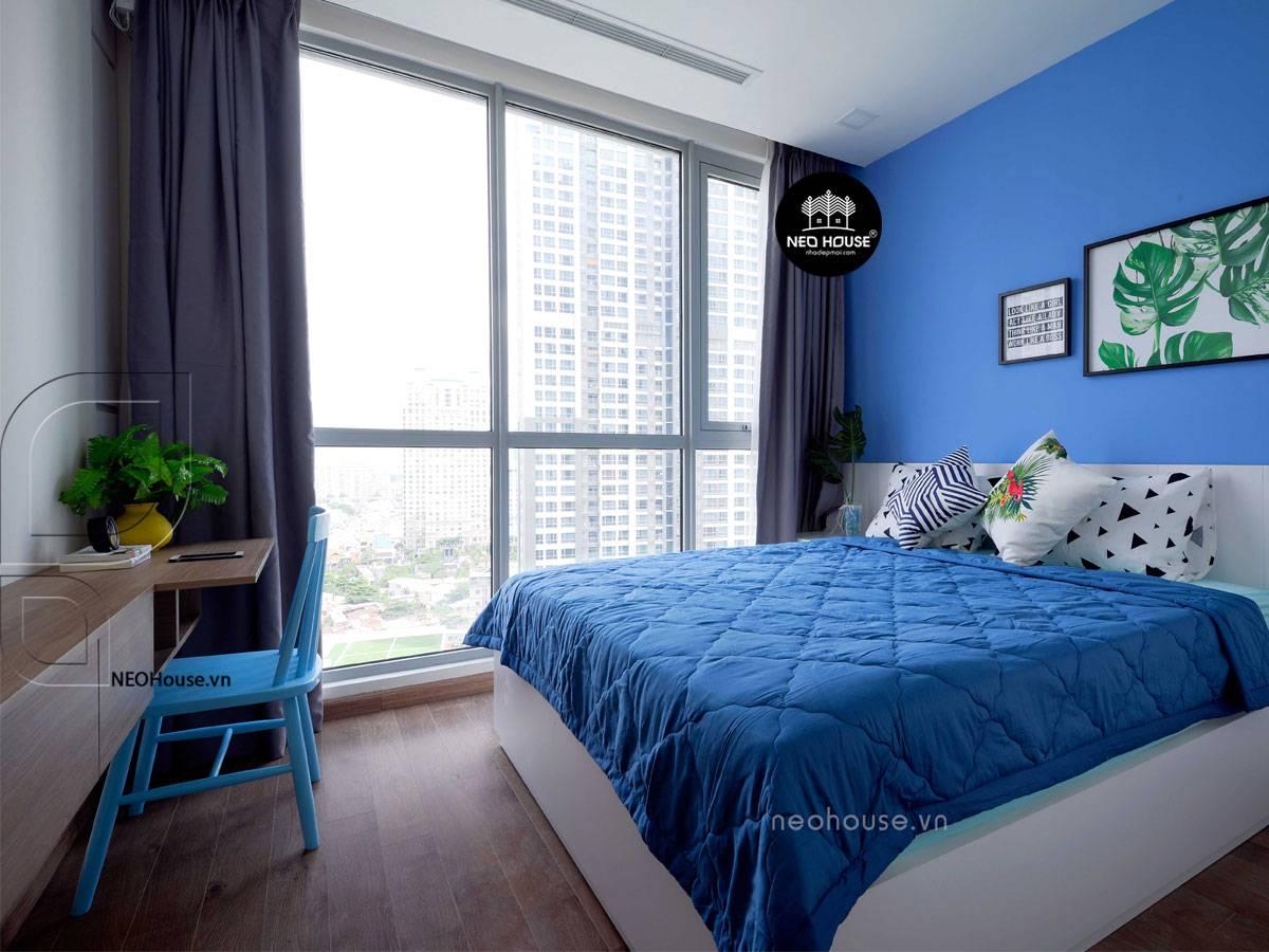 Trang trí tường phòng ngủ 9