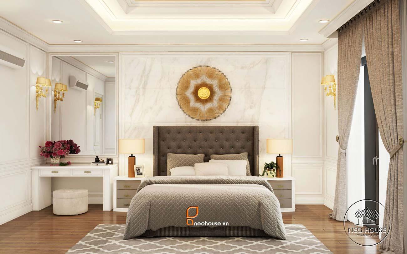 Trang trí tường phòng ngủ 12