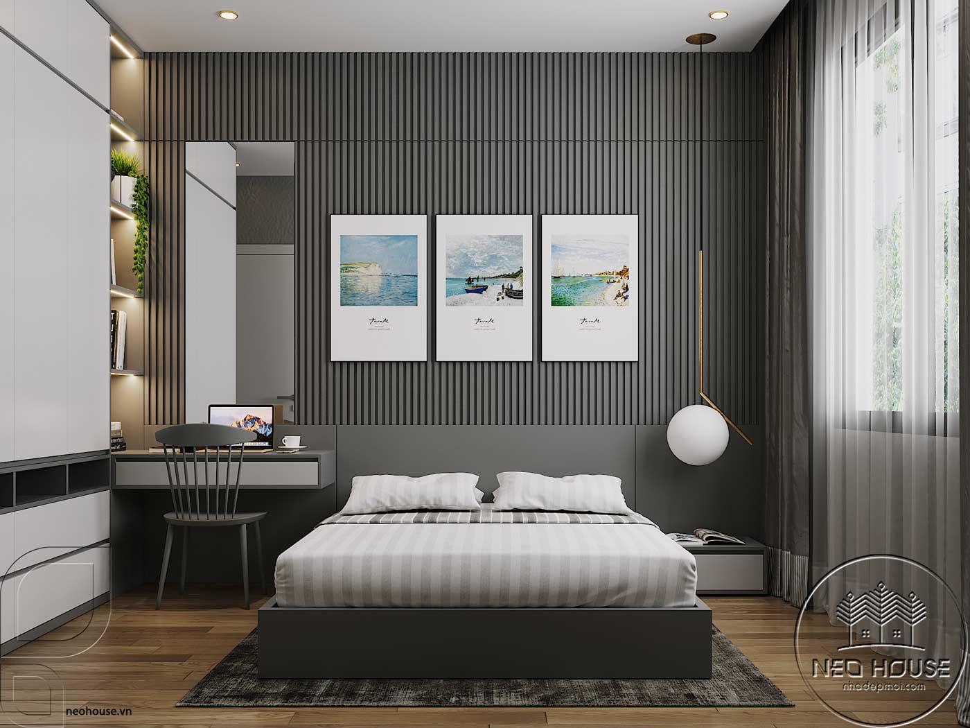 Thiết kế nội thất biệt thự đẹp 3 tầng. Ảnh 12
