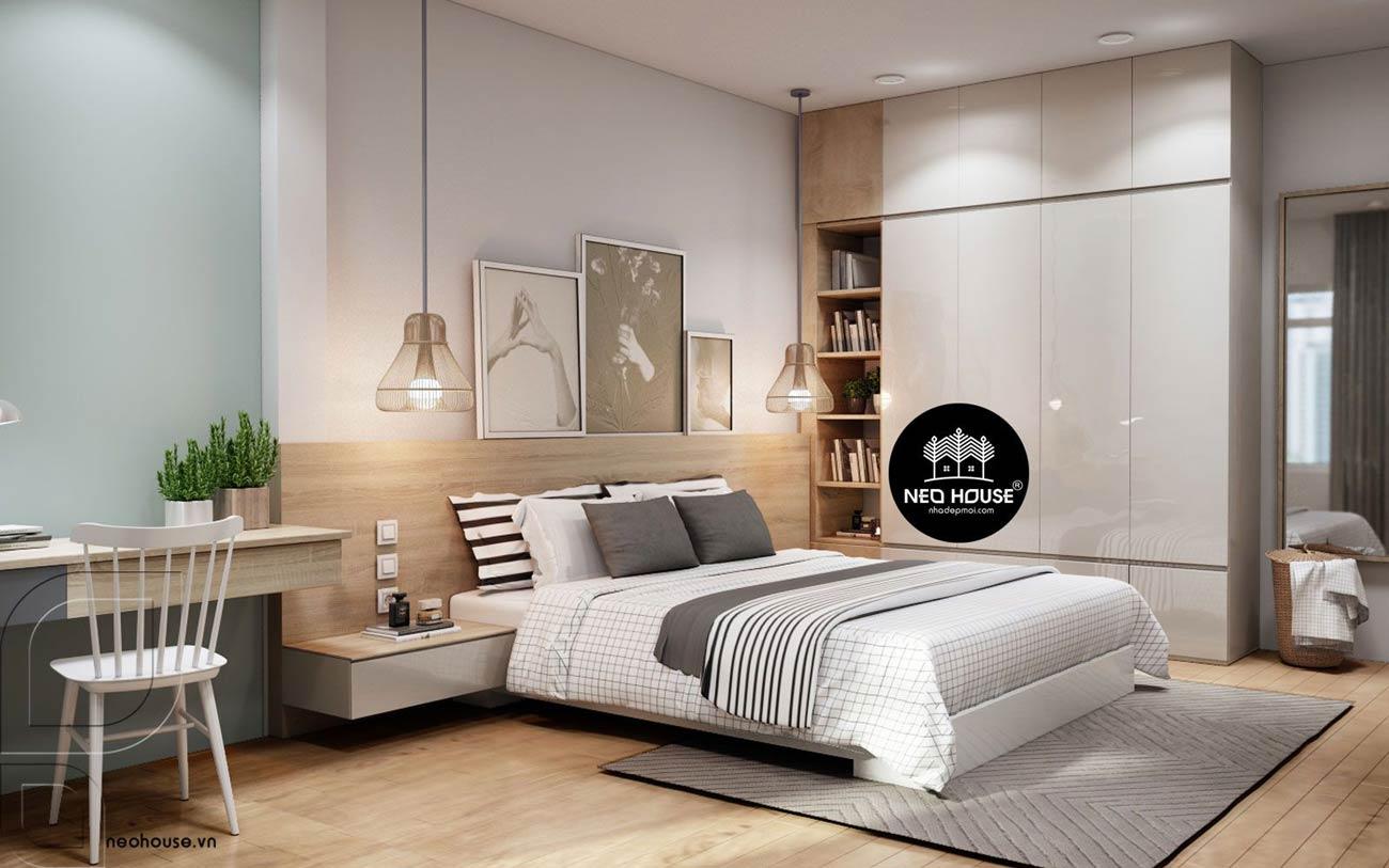 Trang trí tường phòng ngủ 16