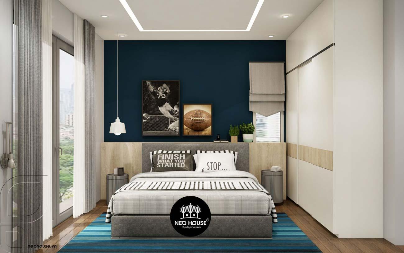 Trang trí tường phòng ngủ 14