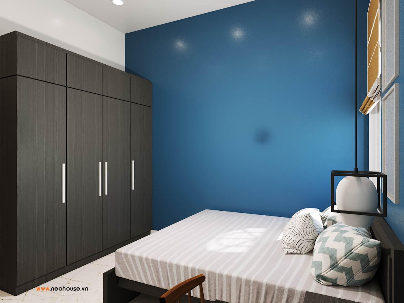 thiết kế nội thất phòng ngủ cho khách