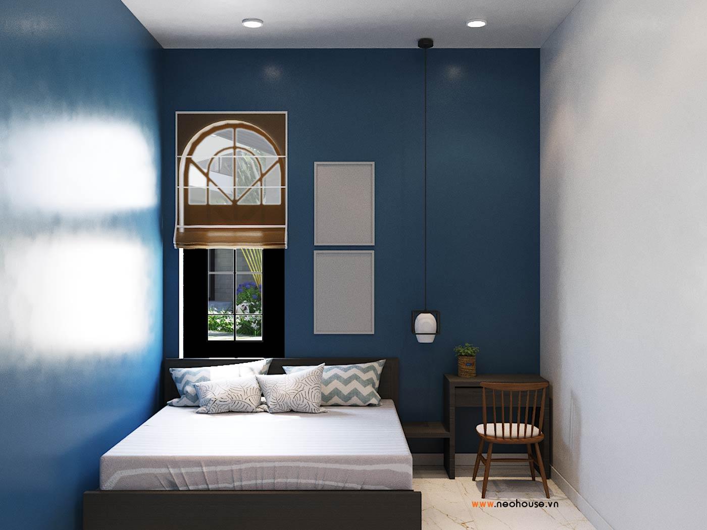 thiết kế nội thất phòng ngủ cho khách 1