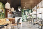 Thiết Kế Nội Thất Quán Cafe Hiện Đại | Độc Đáo Tại Quận 9-NT19