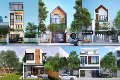TOP những mẫu nhà phố mặt tiền 5m được yêu thích nhất 2019