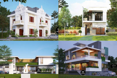 Mẫu Nhà 1 Trệt 1 Lầu Đẹp Năm 2021 Đã Được Thi Công Hoàn Thiện