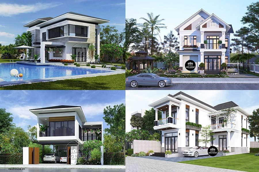 Tuyển chọn các mẫu thiết kế nhà mái thái 2 tầng đẹp và hiện đại