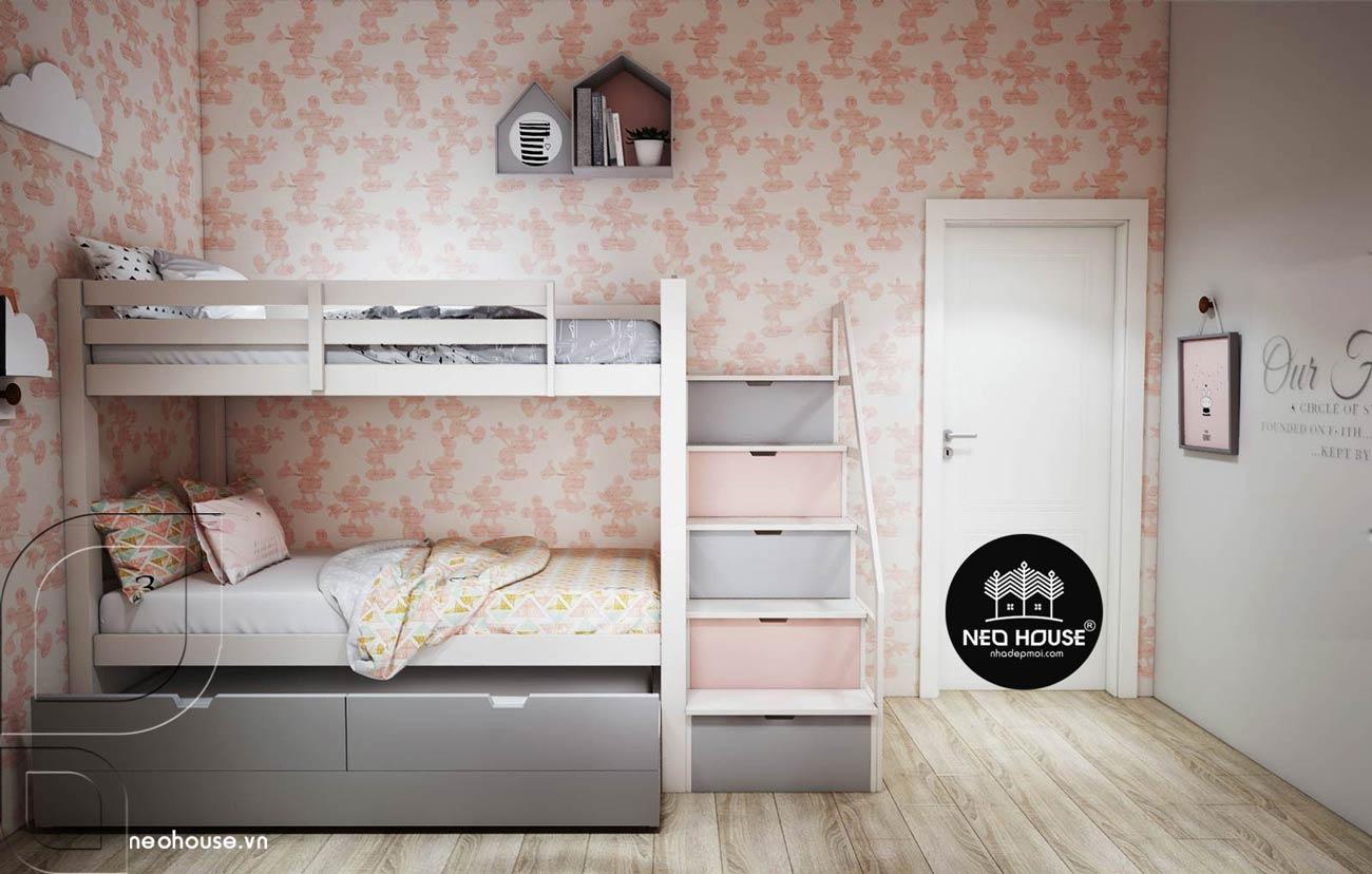 thiết kế phòng ngủ cho bé gái 1