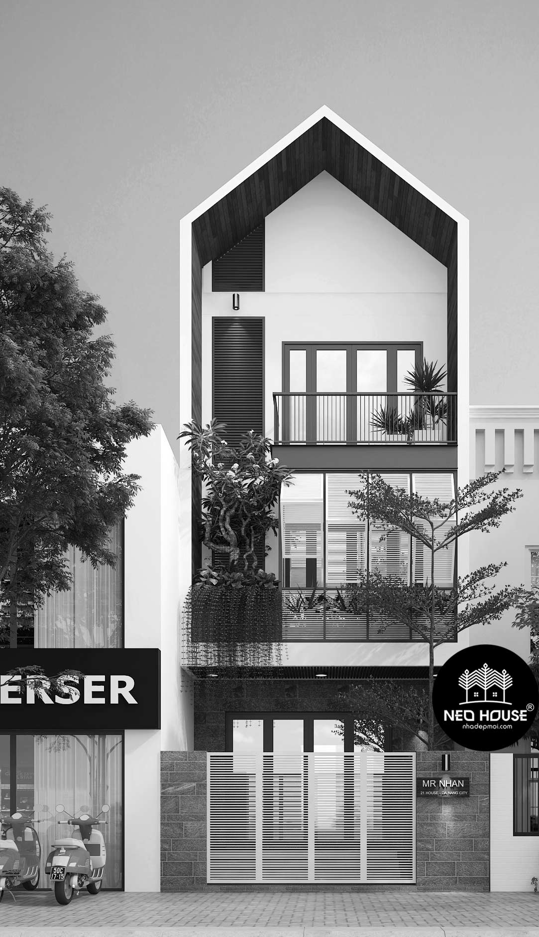 thiết kế nhà đẹp đà nẵng 9