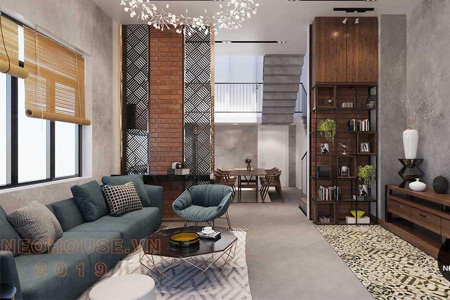 Thiết kế nội thất biệt thự phố: Ảnh bìa