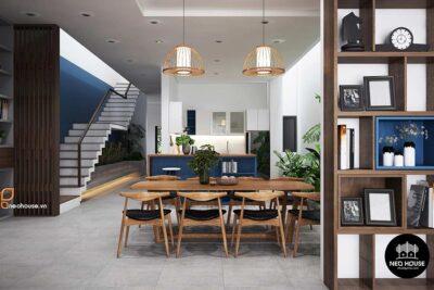 Mẫu Thiết Kế Nội Thất Nhà Phố 3 Tầng Đẹp Hiện Đại 2021