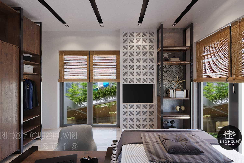 Thiết kế nội thất biệt thự phố 3 tầng 2