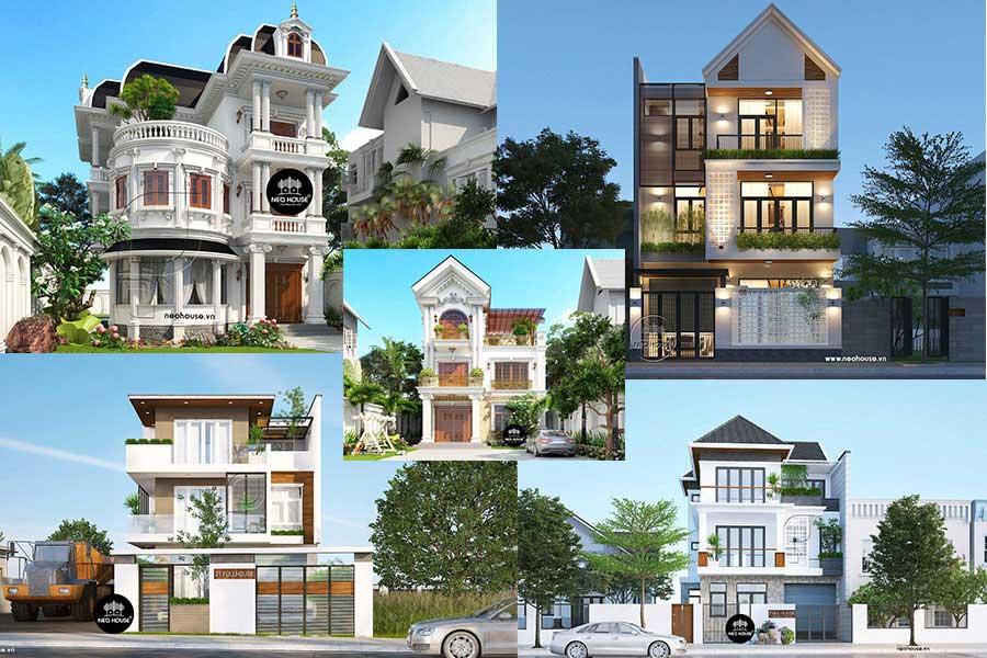 19 mẫu biệt thự đẹp 3 tầng đẳng cấp xu hướng mới nhất 2019