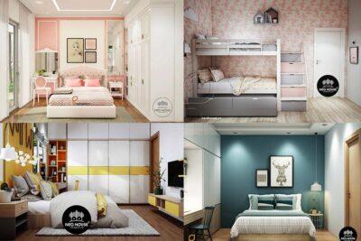 15 Ý Tưởng Thiết Kế Trang Trí Phòng Ngủ Cho Bé Đẹp Trẻ Trung