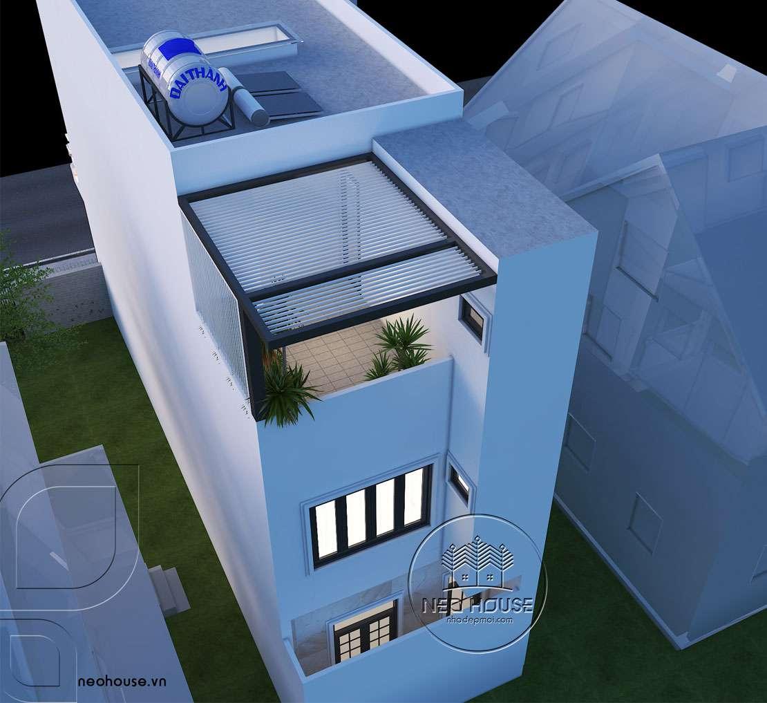 biệt thự 3 tầng tân cổ điển 3