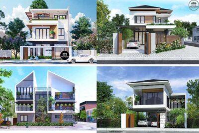 Những Mẫu Thiết Kế Biệt Thự Mini Đẹp Giá Rẻ Được Ưa Chuộng Nhất Năm