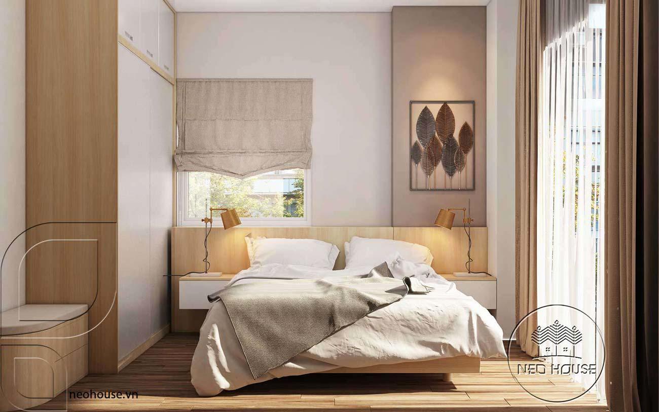 diện tích phòng ngủ 1
