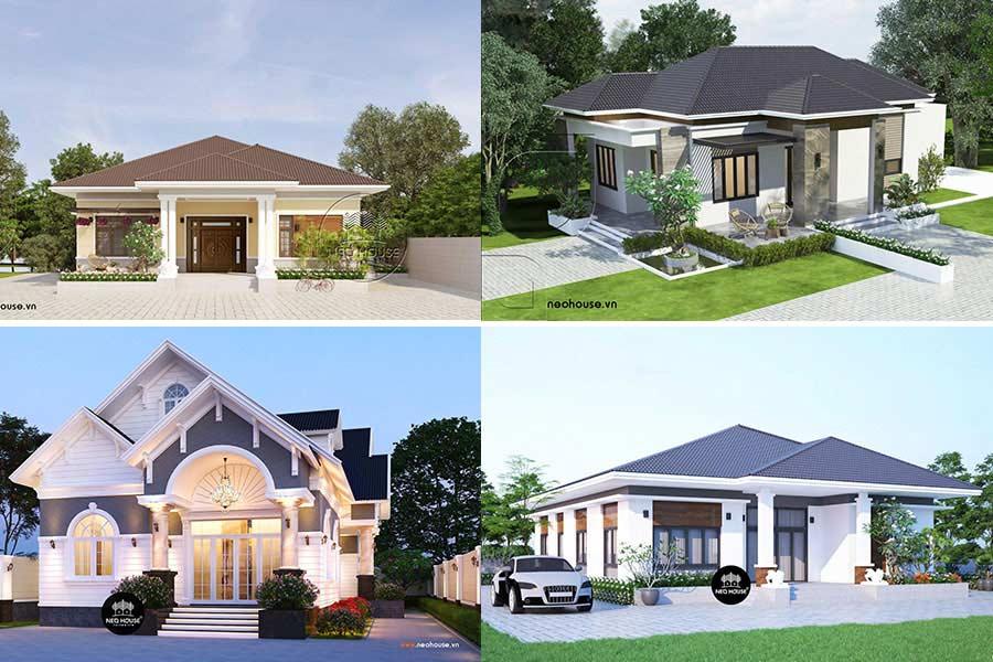 Những Mẫu Nhà Cấp 4 Đẹp Ở Nông Thôn Giá Rẻ 2019
