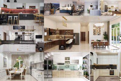 20+ Mẫu Nhà Bếp Đẹp Đơn Giản Năm 2021 Thiết Kế Đa Dạng
