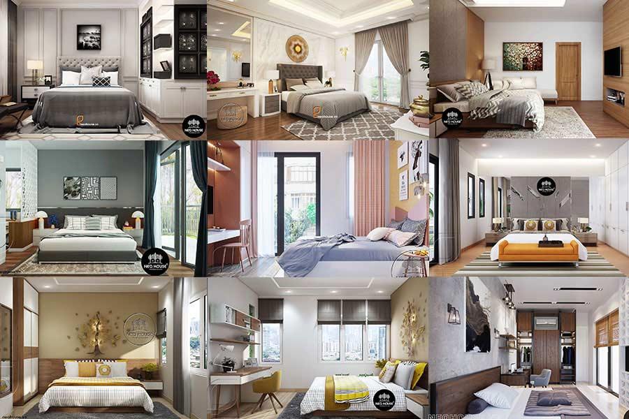20 Ý tưởng thiết kế nội thất phòng ngủ đẹp, đơn giản xu hướng 2019