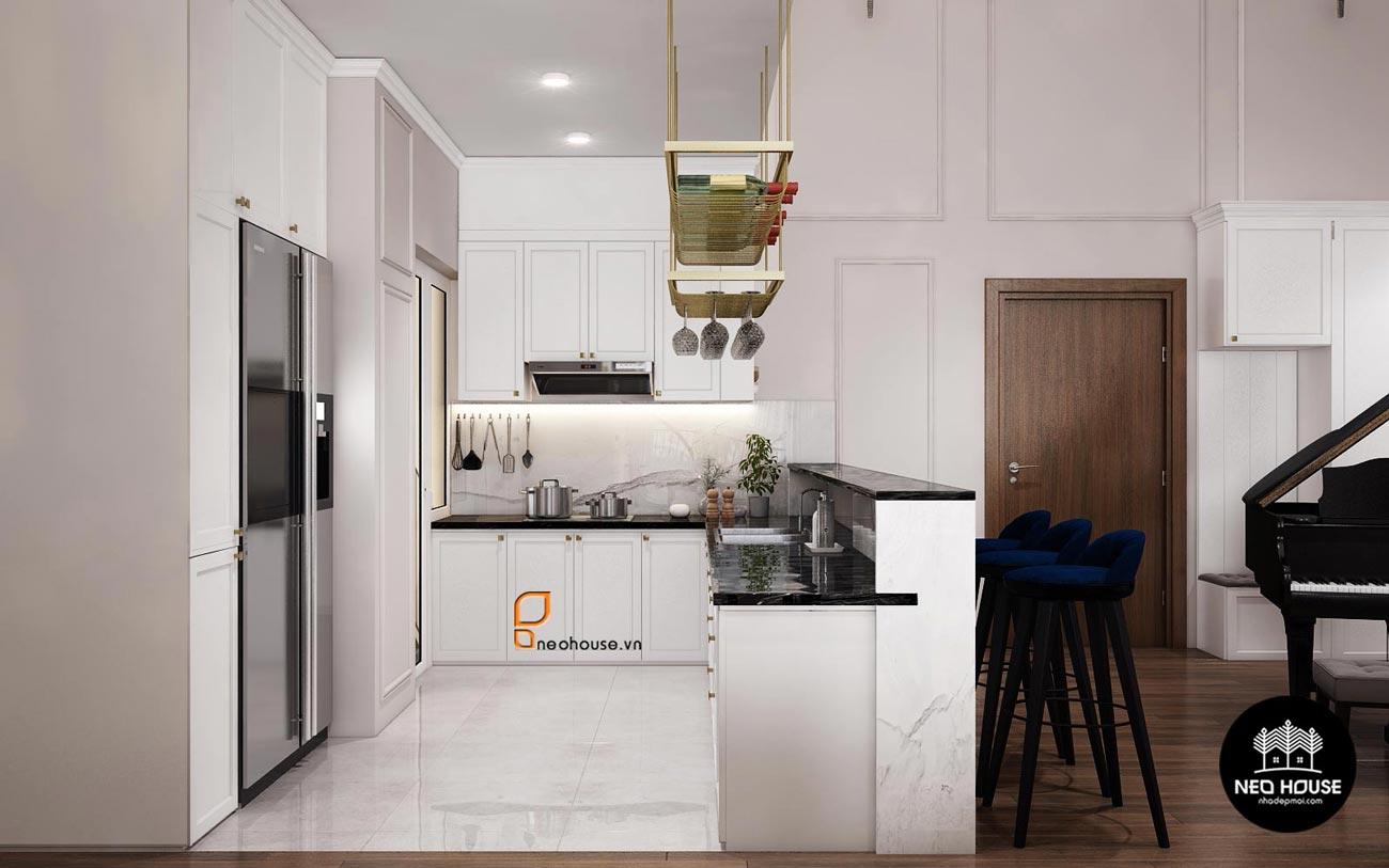 phòng bếp đẹp hiện đại 1