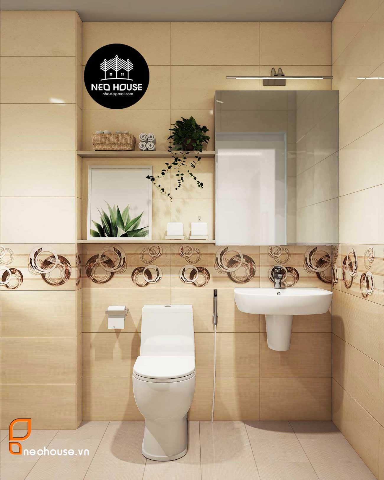 thiết kế phòng tắm hiện đại