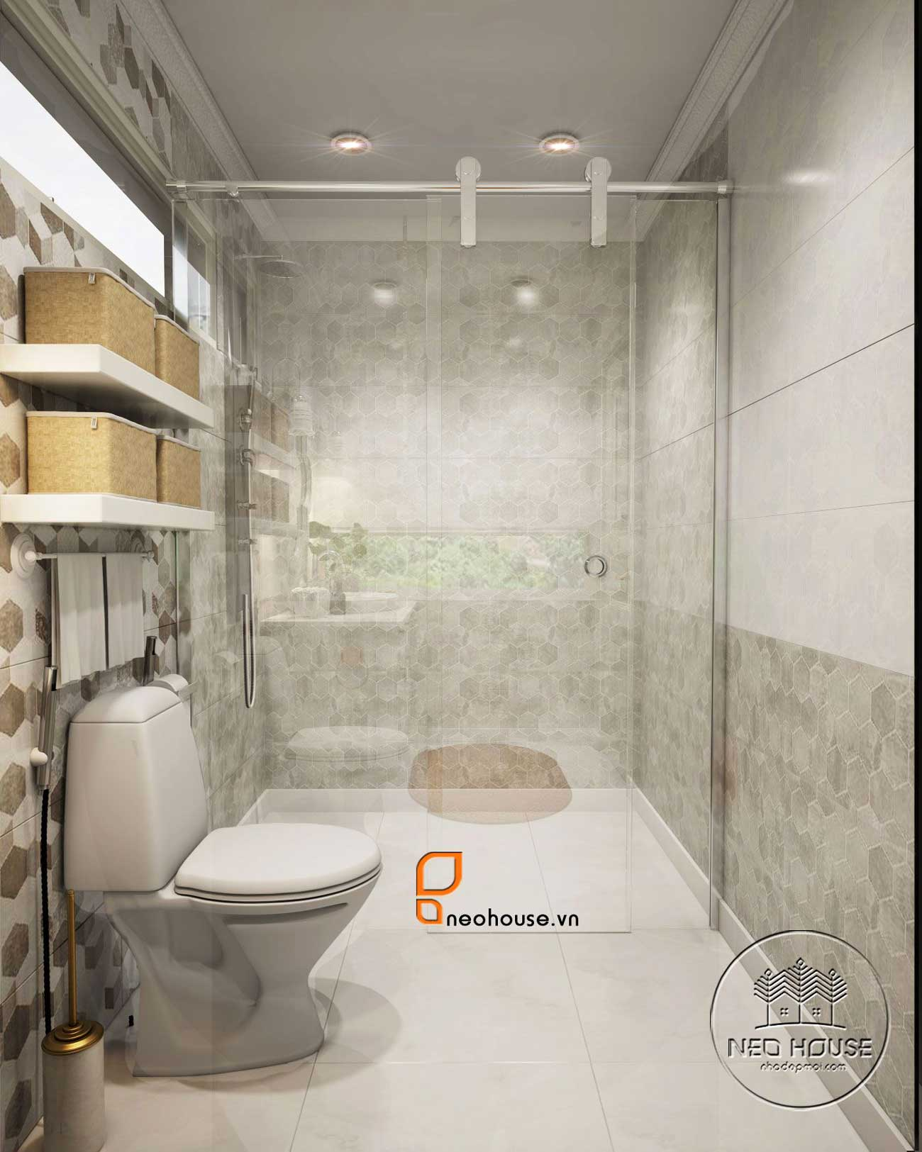 mẫu thiết kế phòng tắm đẹp hiện đại 1