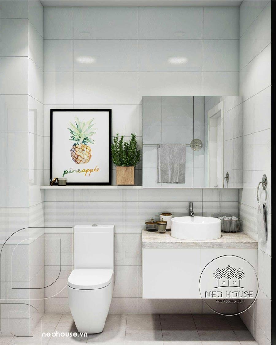 cách bố trí phòng tắm, WC độc đáo 1