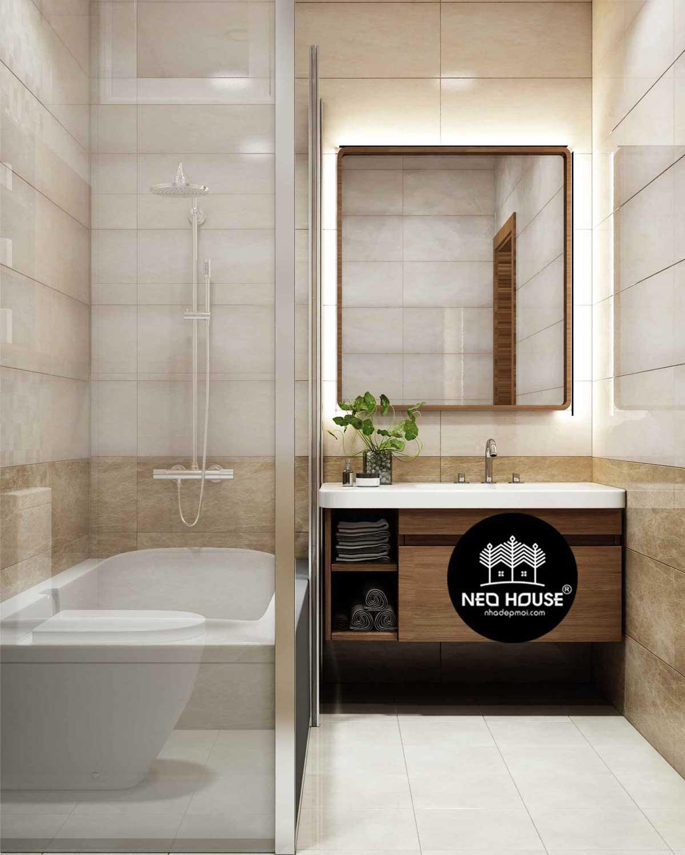 mẫu thiết kế phòng tắm hiện đại